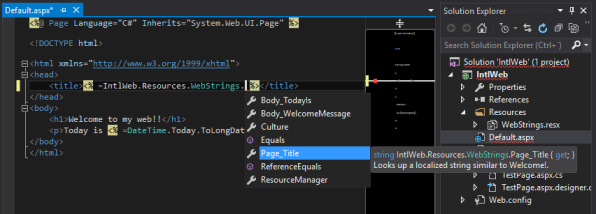 UsingStrings_Intellisense